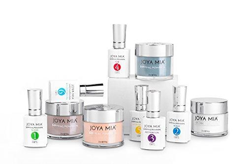 Joya Mia Dipping powder starter kit includes liquids, three powders and clear - Kit Lnb