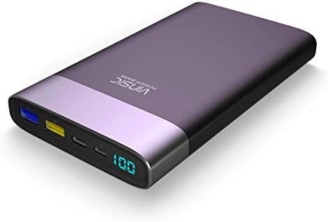 Batería externa, vinsic® 20000mAh Smart identificación Banco de ...