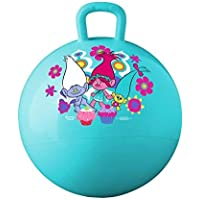 ONEPEARL Space Hopper Jump N Bounce Retro Ball Handle Ride-on Toy Bouncy for Kids, 65cm (Multicolour)