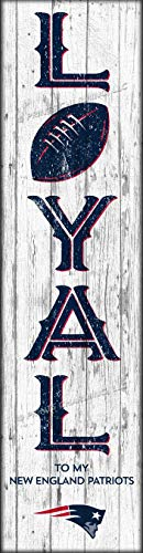 Photo File New England Patriots Vertical Wall Poster, Loyal to My Team 6 x 22 in