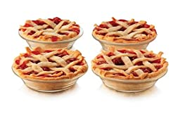 Libbey CRI56236 Glass Just Baking Pie 4.9 in.44; 10 Pieces