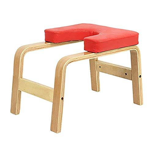 Ellyeall Yoga-Umgekehrter Schemel, Übungs-Stuhl-Multifunktionssport-Übungs-Bank-Inversions-Trainer-Fitness-Ausrüstung Erhöht Produktionsgeschlechtshormone Für Perfekten Körper,Rot