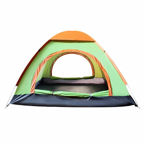 EverKing-Outdoor-3-4-Person-Automatic-Pop-up-Instant-Tent-Two-Doors-Portable-Cabana-Beach-Tent-3-4-Person-Fishing-Anti-UV-Beach-Tent-Beach-Shelter-Quick-Set-Up-in-Seconds-light-blue