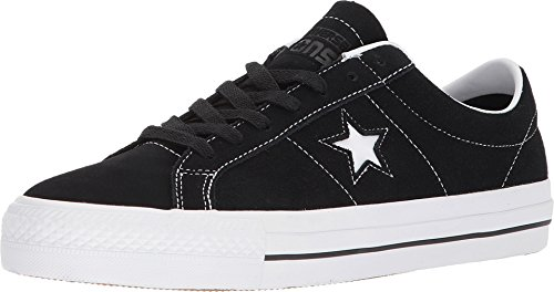 Converse Unisex One Star Pro Ox Black/White/White Skate Shoe 11 Men US -