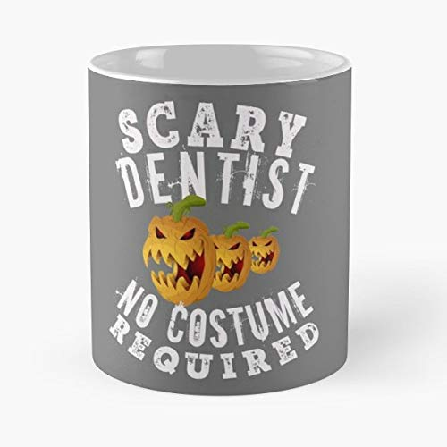 Halloween Gift Creepy Costume Scary Hr Director - 11 Oz Coffee Mugs Unique Ceramic Novelty Cup, The Best Gift For Halloween.]()