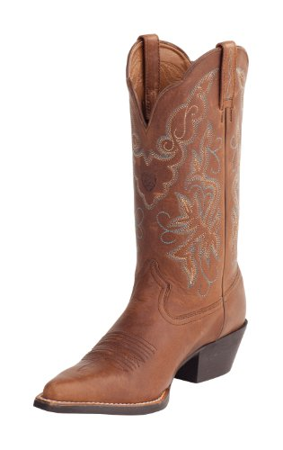 Ariat Womens 12 Heritage Western Boots Timber