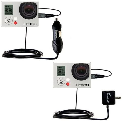 Essential Gomadic AC//DC Charge Accessory Bundle Kit for The Nest Dropcam//Dropcam Pro Includes Gomadic Home and Car Chargers at a Money Saving Price Based on TipExchange Technology