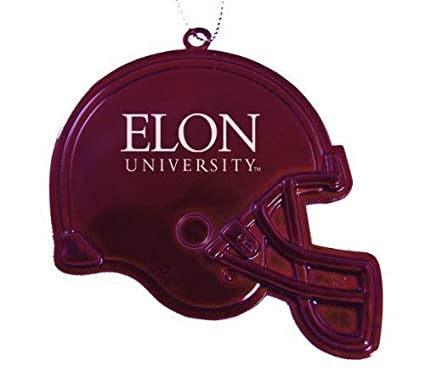 Amazon.com: Elon University – Chirstmas día festivo Casco de ...