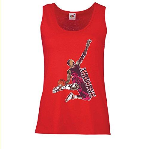 Camisetas sin Mangas para Mujer Sé el señor de la Gravedad, Baloncesto Freestyle Dunk - Me Encanta Este Juego (XX-Large...