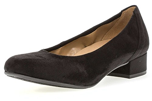Women's Shoes Court Gabor Black Black zEqUUwd
