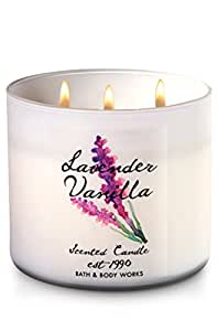 Bath & Body Works 3-Wick Scented Candle in Lavender Vanilla