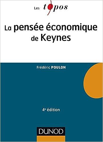 La pensée économique de Keynes - 4e éd