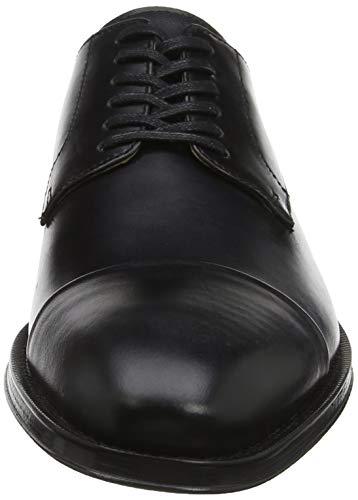 Cordones De Patern Black Negro Derby 97 Zapatos Para Hombre Aldo jet ZxRwHFqw