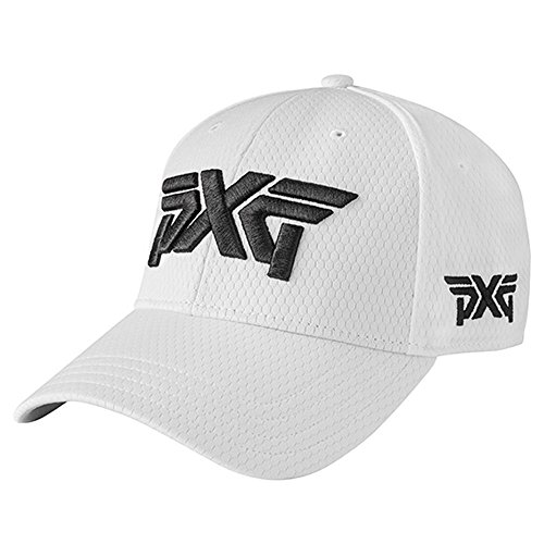 PXG Fitted Prohex Curved Bill Golf Cap 2017 White Small Medium 14c42a95d4c7