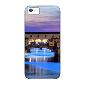 Top Quality Protection Ponte Vecchio Florence Case Cover For Iphone 5c