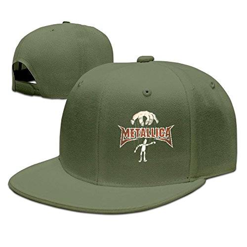 Metallica-Master Of Puppets Caps & Hats Unisex Adjustable Hunter Hat Visor ForestGreen