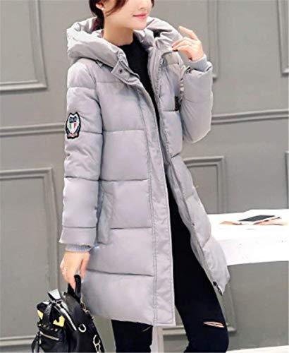 d'hiver Grau Plein Produit Air Épaissir Élégant Femmes Loisirs Manteau Bas Capuche Plus Quilted Chaud Parka Manteaux Manteau De En À Le Femmes Longue Vestes Hiver Classique Mode Vers dAxHcqpw