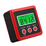 MagiDeal Mini LCD Digital Protractor Angle Finder Level Inclinometer Functional Meter