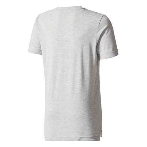adidas Yb Prime Log Te Camiseta, Niños gris - (brgrin)
