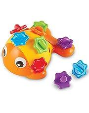Learning Resources LER9093 Finn The Fine Fish, Sensory & Fine Motor Toy, Leeftijd 18 Maanden+