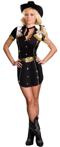 Sexy Rodeo Cowgirl Costume - Womens X-Large 14-16 (Sexy Holloween Costumes)