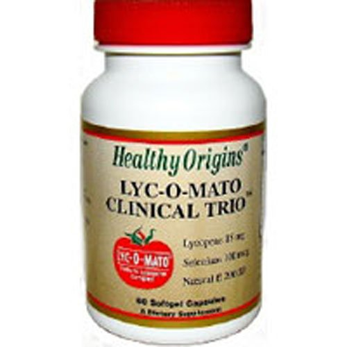 Healthy Origins Lyc O Mato Clinical Trio 60 Cap