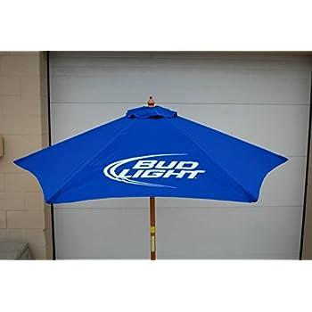 Amazon Com Bud Light Beer 7 Ft Patio Umbrella Garden