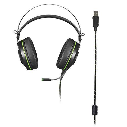 Fone De Ouvido Headset Warrior Raiko Com Microfone E Leds - PH259