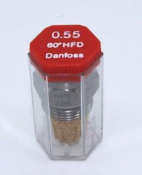 80/° SFD Vollkegel Danfoss Brennerd/üse /Öld/üse 0,35 USgal//h