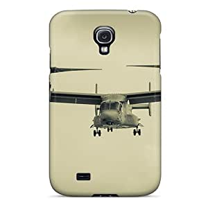 New Style NikRun A Helicopter With Two Screws Premium Tpu Cover Case For Galaxy S4