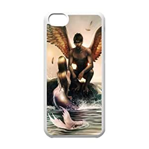 iphone 4/4s iphone 4/4s Little mermaid Phone Back Case Custom Art Print Design Hard Shell Protection FG091103