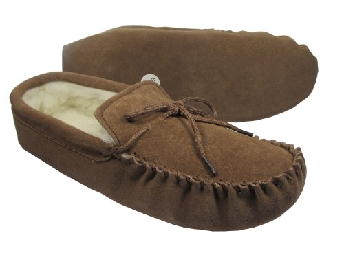 Suede Sole Moccasins Suede with Lined Camel Men's Wool Colour Genuine gCS5qq