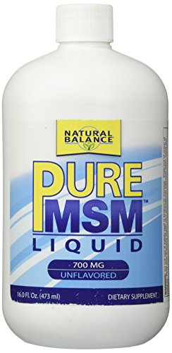 Équilibre naturel 700 mg MSM pur supplément nutritionnel, 16 onces