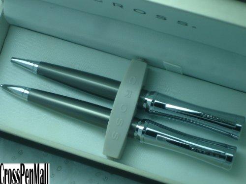 Cross Parasol Titanium Plate Pen Pencil Set