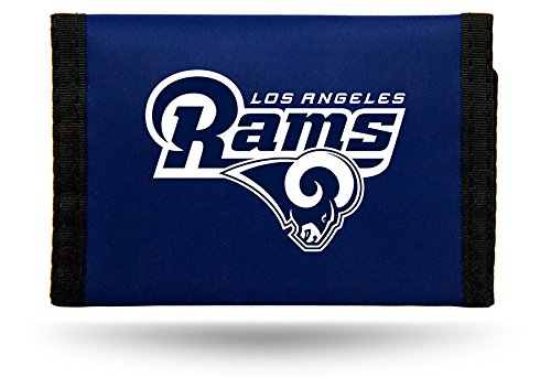 Rico Industries NFL Los Angeles Rams Nylon Trifold Wallet
