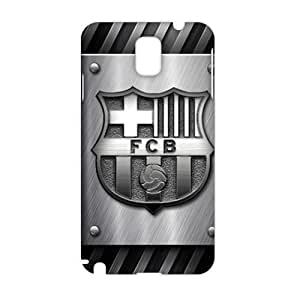 Angl 3D Case Cover FCB Logo fc barcelona logo Phone Case for Samsung Galaxy Note3