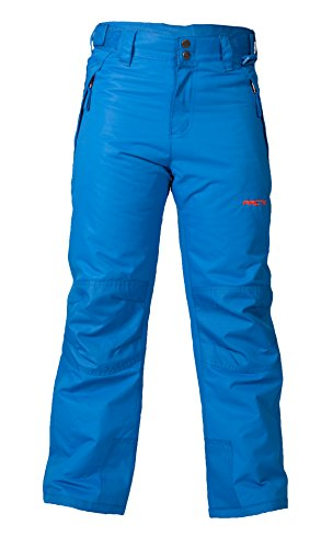 Arctix Youth Snow Pants with Reinforced Knees and Seat, Blue, ()