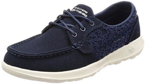 Skechers Gowalk Lite – Mira Navy Womens Boat Shoes Size 6M Review