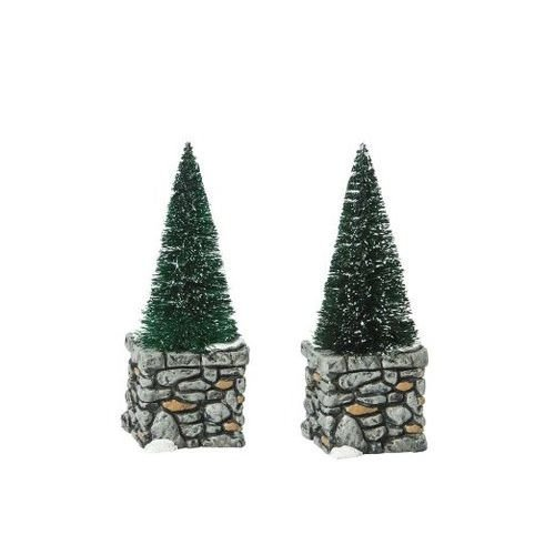 Department 56 Accessories for Villages Limestone Topiaries Accessory Figurine (Set of 2) by Department 56
