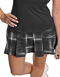 Antigua Women's Performance - Spirit Skort 100660 - Black Multi - Medium