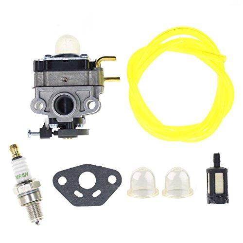 AUTOKAY Carburetor with Fuel Line Filter Spark Plug for Troy-Bilt TB4BP TBP6160 TB4BPEC Backpack Blower 753-05676A Carb hot sale