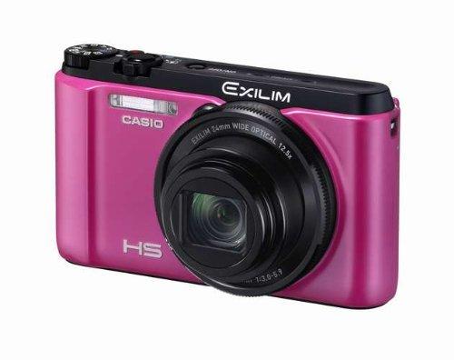 Casio Digital Camera Exilim Zr1100 Pink Ex-zr1100vp - International Version (No Warranty)