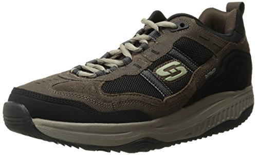 Skechers Skechers Sport Men's Shape Ups XT Premium Comfort Oxford,Brown/Black,8.5 M US price tips cheap