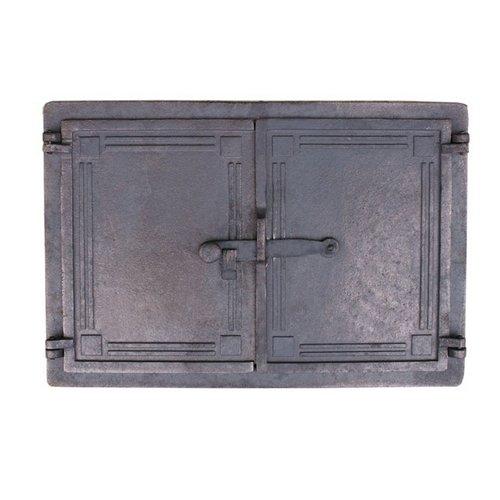 Bread Oven Door Wood Stove Cast Iron Cast Iron Pizza Oven Stone oven door door 48x 33cm Oven Door QLS Handels GmbH