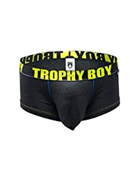 Andrew Christian Trophy Boy Boxer, Charcoal, X-Large