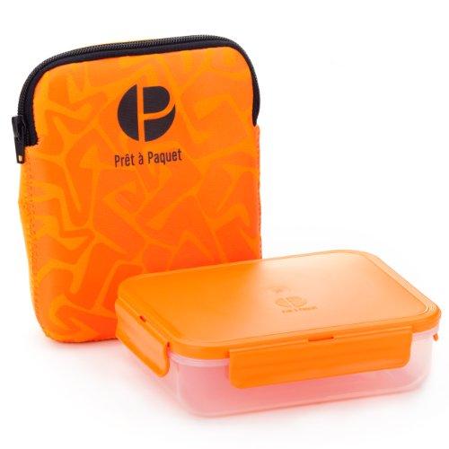 Prêt à Paquet W3003 Sandwichbox, Hülle orange