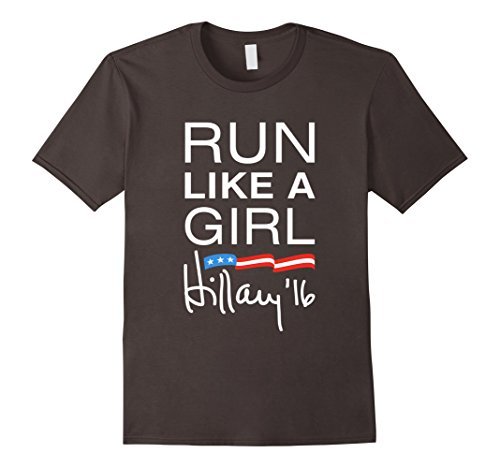 Run Like A Girl Signature Hillary '16 T-Shirt