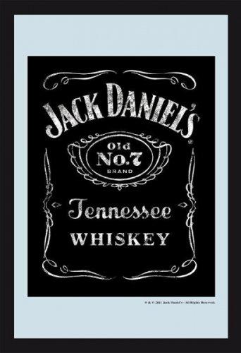 Jack Daniels Logo Mirror - Tennesse Whiskey by Jack Daniel's