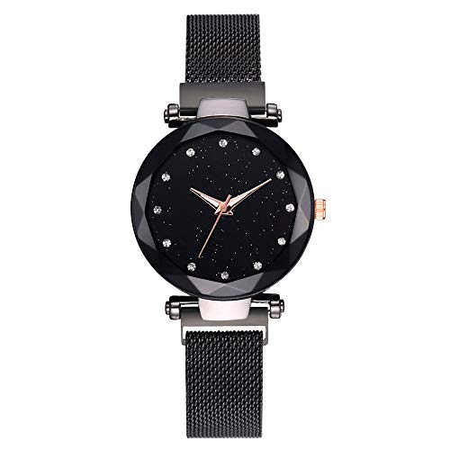 Womens Quartz Watch,Unique Analog Fashion Clearance Lady Watches Female Watches On Sale Casual Wrist Watches for Women,Round Dial Case Comfortable Faux Leather Watch from shitou