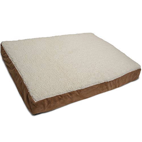 Oxgord orthopedic pet bed foam mattress for dogs cats for How long should a bed mattress last